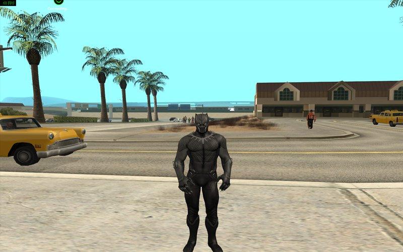 GTA San Andreas Captain America Civil War Skin Pack Mod
