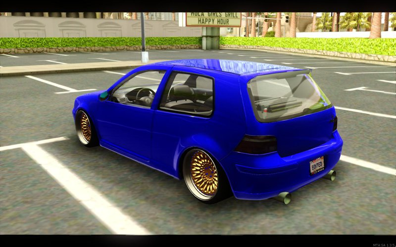 gta san andreas vw golf mk4 v5 edited mod. Black Bedroom Furniture Sets. Home Design Ideas