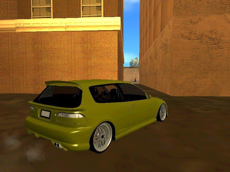 GTA San Andreas Honda civic Fast and Furious Mod - GTAinside.com
