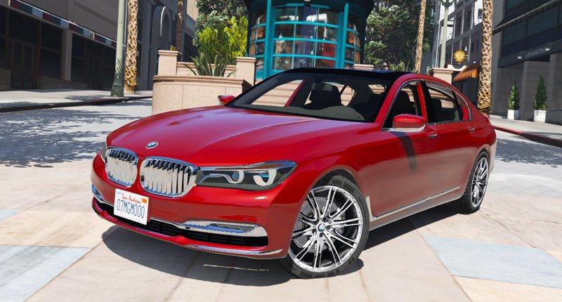 GTA 5 2016 BMW 750Li Mod