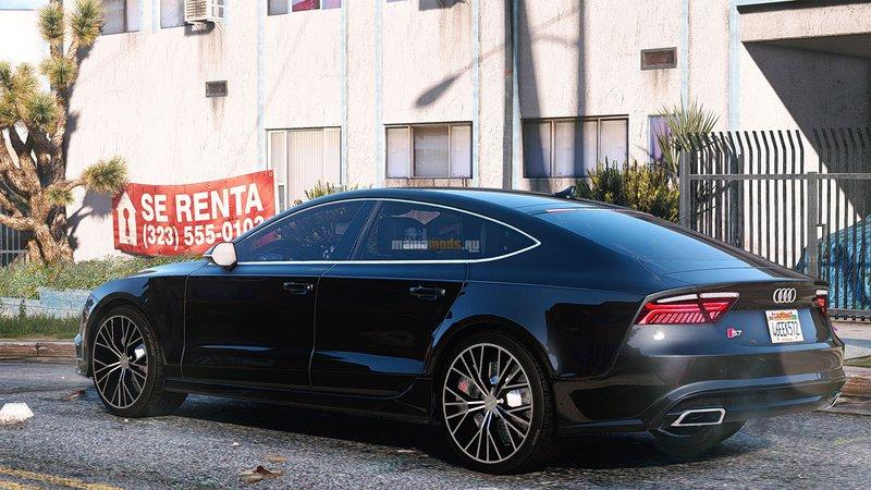 Gta 5 Audi A7 2015 Stock Add On Replace Mod