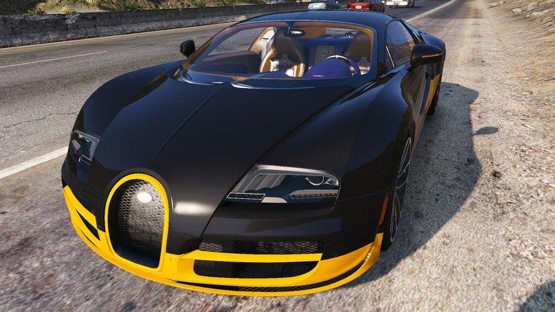 gta 5 bugatti veyron super sport 2011 mod. Black Bedroom Furniture Sets. Home Design Ideas