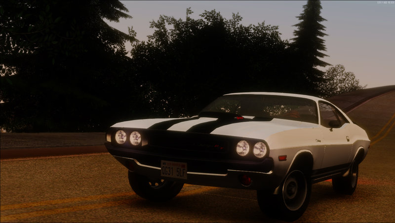 GTA San Andreas 1970 Dodge Challenger RT 440 Six Pack Mod
