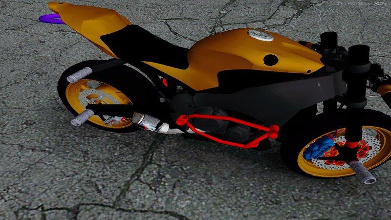 Honda CBR 1000RR naked bike stunt - GTA San Andreas MOD
