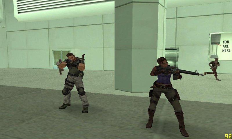 GTA San Andreas Resident Evil Mod v1 - Zombotech Mod