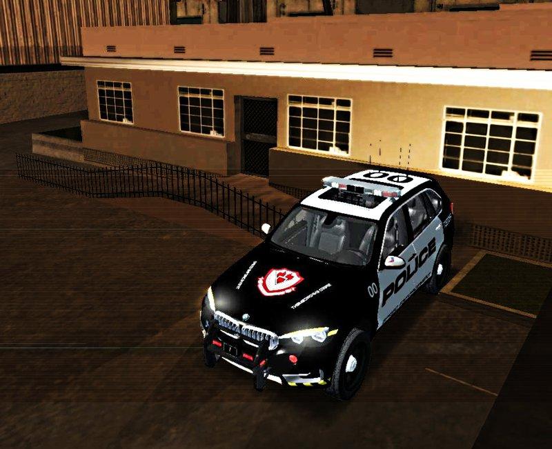 """GTA SA """"2014 BMW X5 F15 Police"""""""