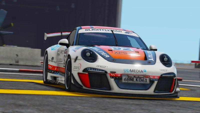 Ruf RGT8 - GT3 для GTA V - Скриншот 1
