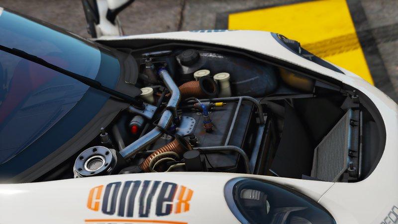 Ruf RGT8 - GT3 для GTA V - Скриншот 3