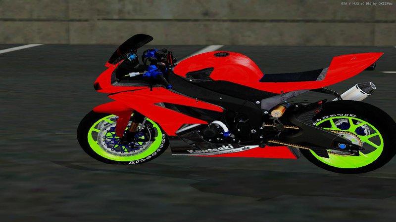Gta San Andreas Kawasaki Ninja Zx 6r Boy From Anak Jalanan Mod