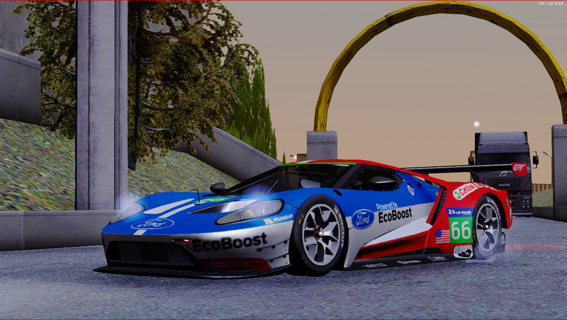 Ford Gt Lm
