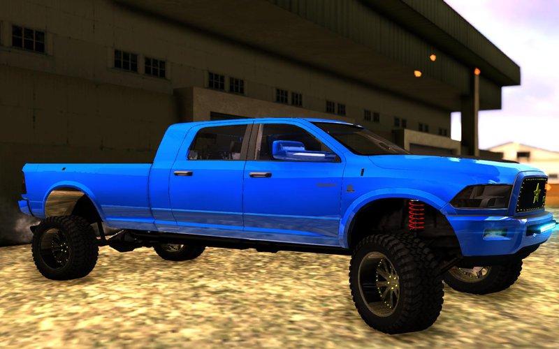 GTA San Andreas Dodge Ram Megacab Long Bed Mod - GTAinside.com
