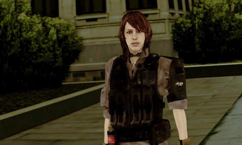 Gta San Andreas Metal Gear Solid V Phantom Pain Quiet Xof