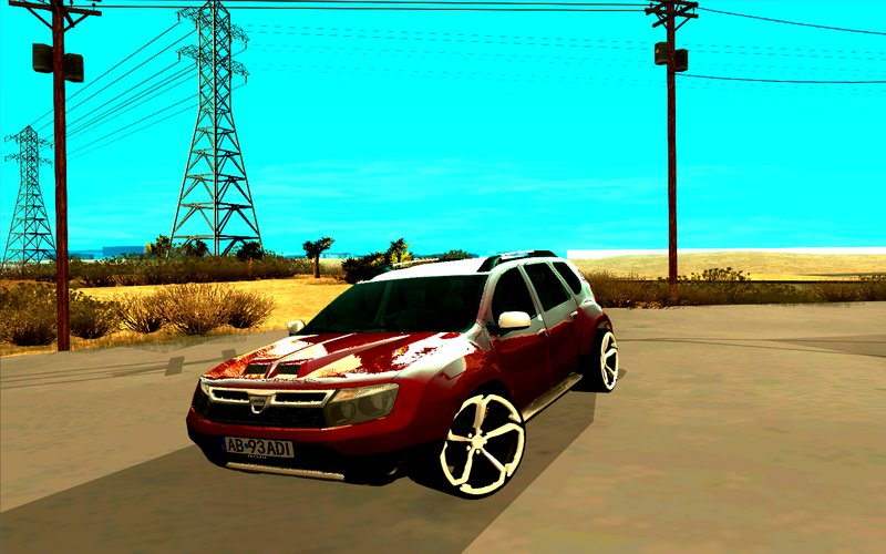gta san andreas dacia duster 2010 tuning mod. Black Bedroom Furniture Sets. Home Design Ideas