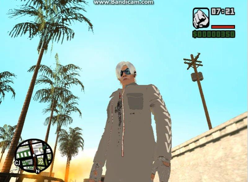GTA San Andreas Quicksilver X-men: Apocalypse MOD GTA SA Mod