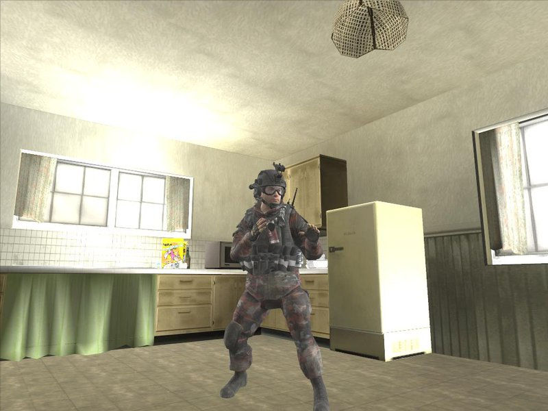 GTA San Andreas COD MW2 Russian Paratroopers Mod - GTAinside com