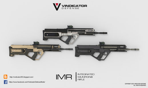 Integrated Munitions Rifle (IMR)