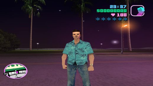Claude from Vice City