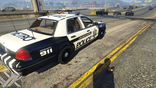 LVPD metro-Style for LSPD