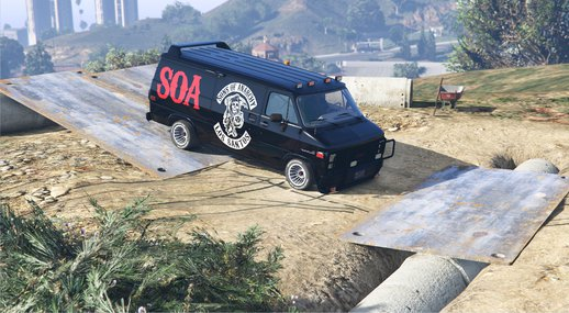 GMC Vandura Son's Of Anarchy SOA