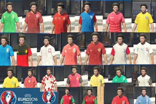 UEFA EURO 2016 Kits ( Franklin )