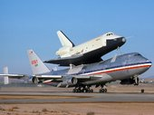 Boeing 747-123 Space Shuttle Carrier