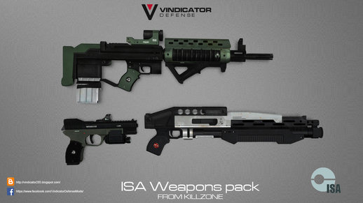 ISA Weapons pack from killzone