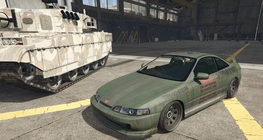 Military Honda DC2 Integra
