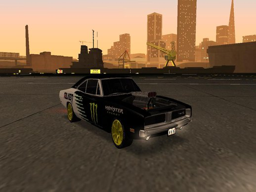 Dodge Charger 1969 Monster Energy