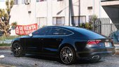 Audi A7 2015 Stock [Add-On / Replace]