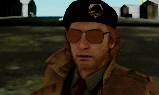 Metal Gear Solid V Phantom Pain Kaz Miller ver.2