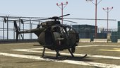 MH-6 Little Bird (troop version)