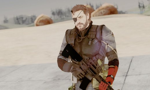 Metal Gear Solid V Phantom Pain Venom Snake Sneaking suit
