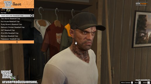 Trevor - Full black Cap HD V1.8