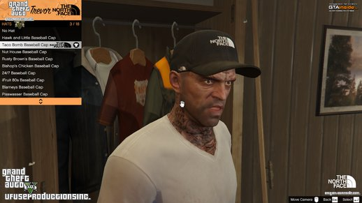 Trevor - The North Face Cap HD V1.8