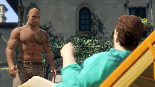 Dwayne Johnson and Michael Madsen [Player Mod]
