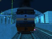 2TE116 Diesel Electric Freight Locomotive (P.N.R Blue-Orange Stripe 2012 Livery)
