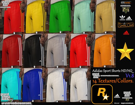 Adidas Sport Shorts HD/HQ V1.8