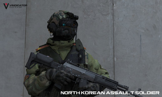 Advanced Warfare North Korean Assault Soldier