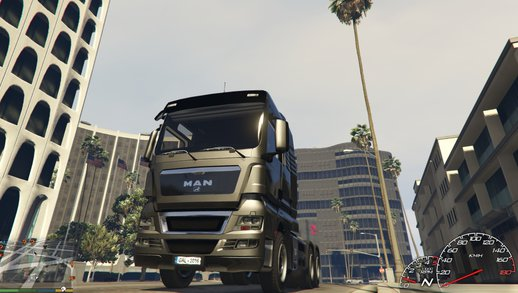 MAN TGX V8 Euro 5 [Add-On / Replace]