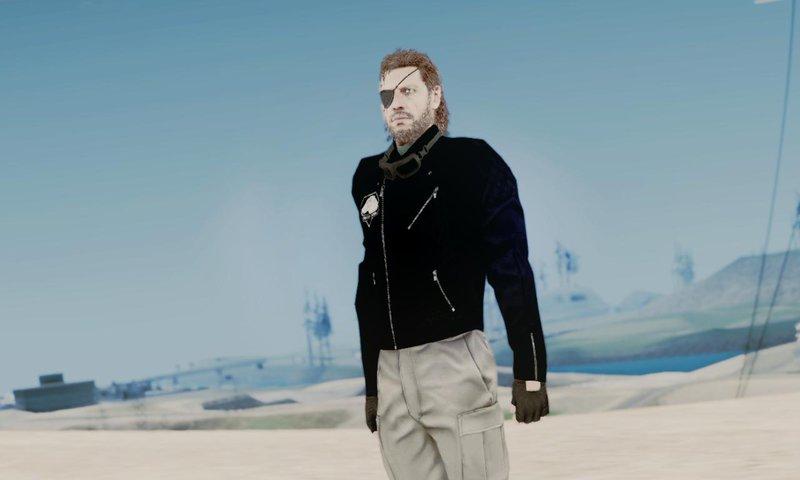 Gta San Andreas Metal Gear Solid V Phantom Pain Big Boss