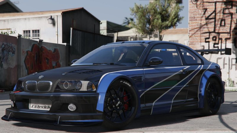 gta 5 bmw m3 e46 gtr add on mod. Black Bedroom Furniture Sets. Home Design Ideas