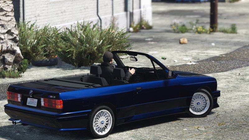 GTA 5 BMW M3 E30 1991 [TUNING] Convertible Mod  GTAinsidecom