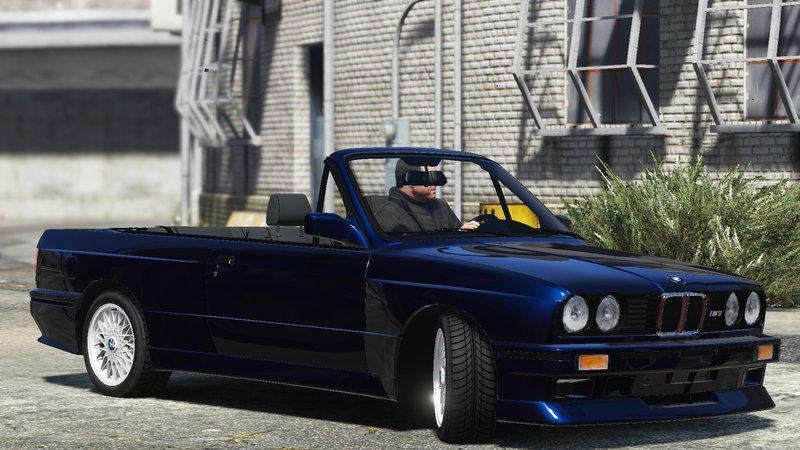 GTA 5 BMW M3 E30 1991 TUNING Convertible Mod - GTAinside.com