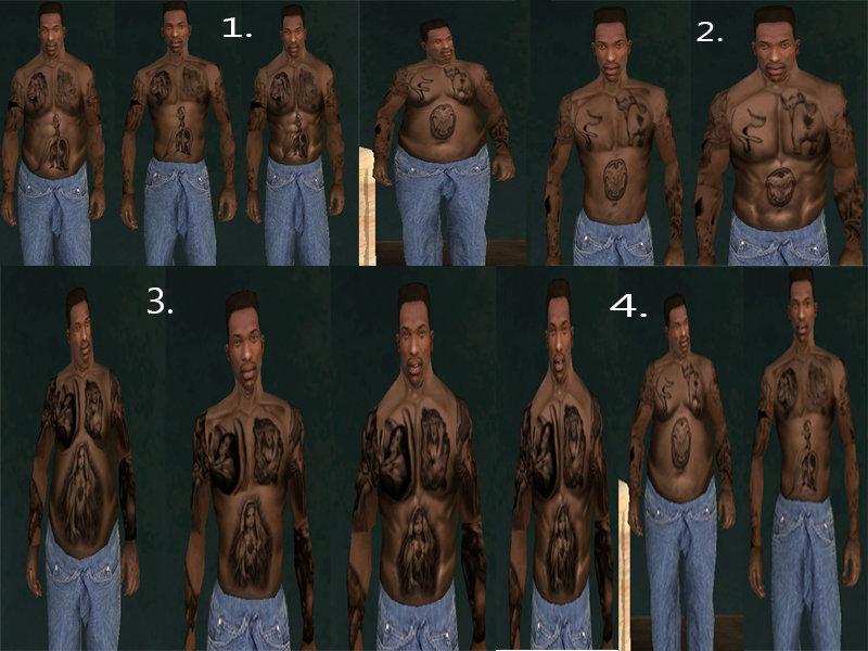 Gta San Andreas Tattoos Mod Installer