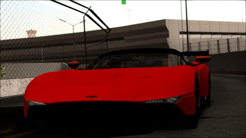 Gta San Andreas Aston Martin Vulcan 2016 Mod Gtainside Com