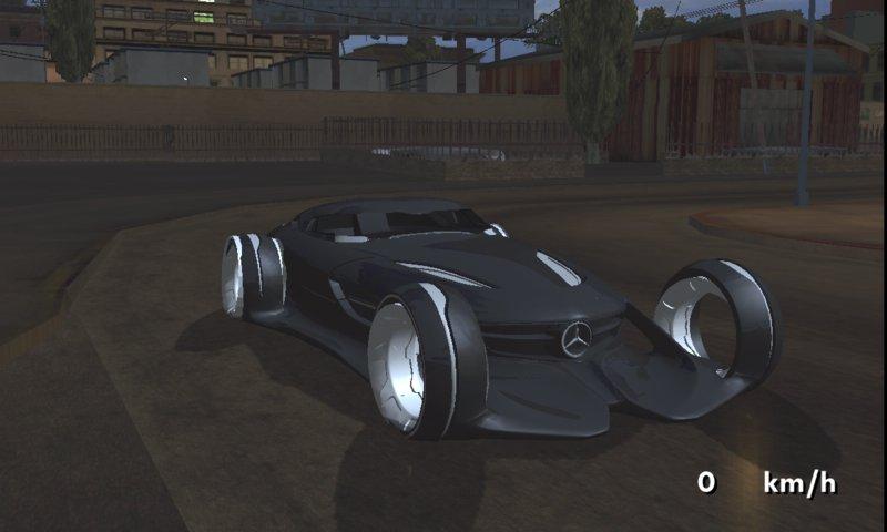 Gta san andreas mercedes benz silver lightning for mobile for Mercedes benz lightning price