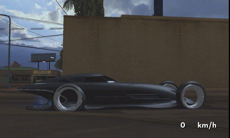Gta San Andreas Mercedes Benz Silver Lightning For Mobile Mod