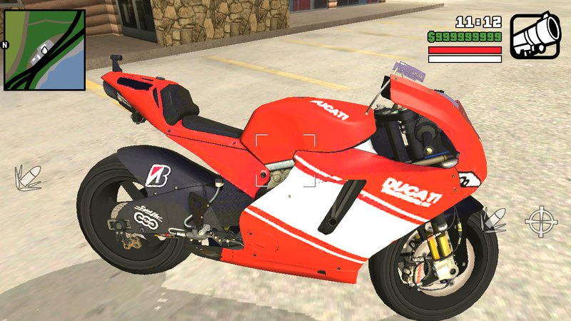GTA San Andreas Ducati For Android Mod - GTAinside com