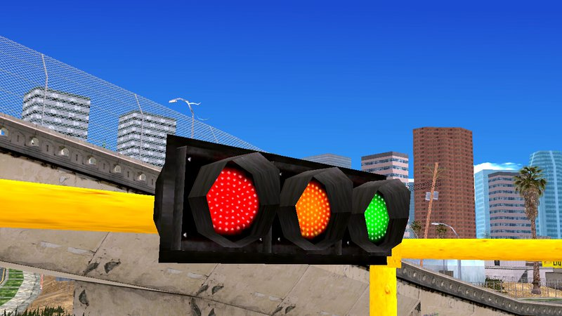 N.A.P Real Traffic Light Texture For Mobile & GTA San Andreas N.A.P Real Traffic Light Texture For Mobile Mod ...