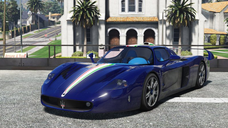 gta 5 maserati mc12 add on tuning template mod. Black Bedroom Furniture Sets. Home Design Ideas